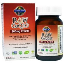 Garden of Life, Raw CoQ10, 200 mg, 60 Veggie Caps